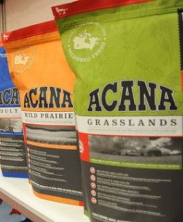 Acana Dog Kibble Made In Canada From Fresh Regional Ingredients