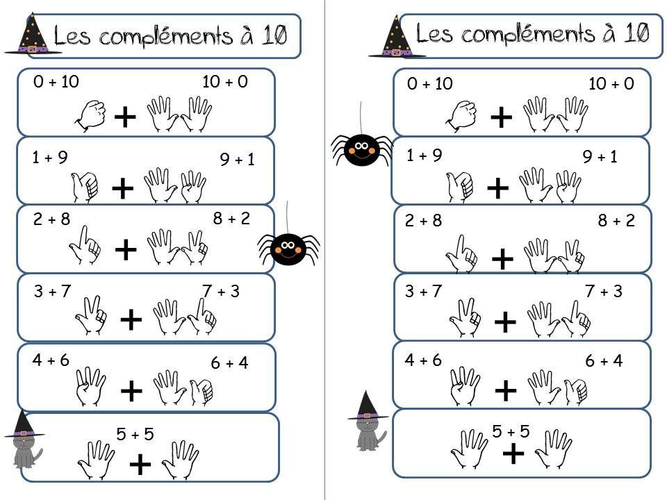 Les complements a 10 cp la classe de corinne maths for Calcul classe energetique maison