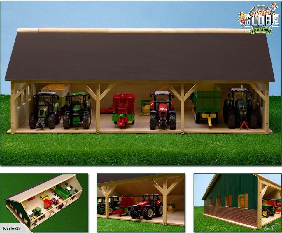 Kids 1/32 Globe Bay Farm Garage Trade Me Outdoor