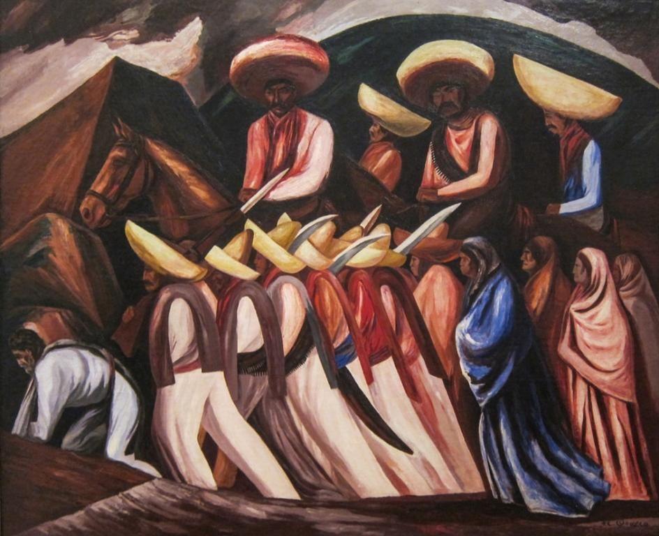 Zapatistas Fine Art Print 300 Watercolor Paper Fine
