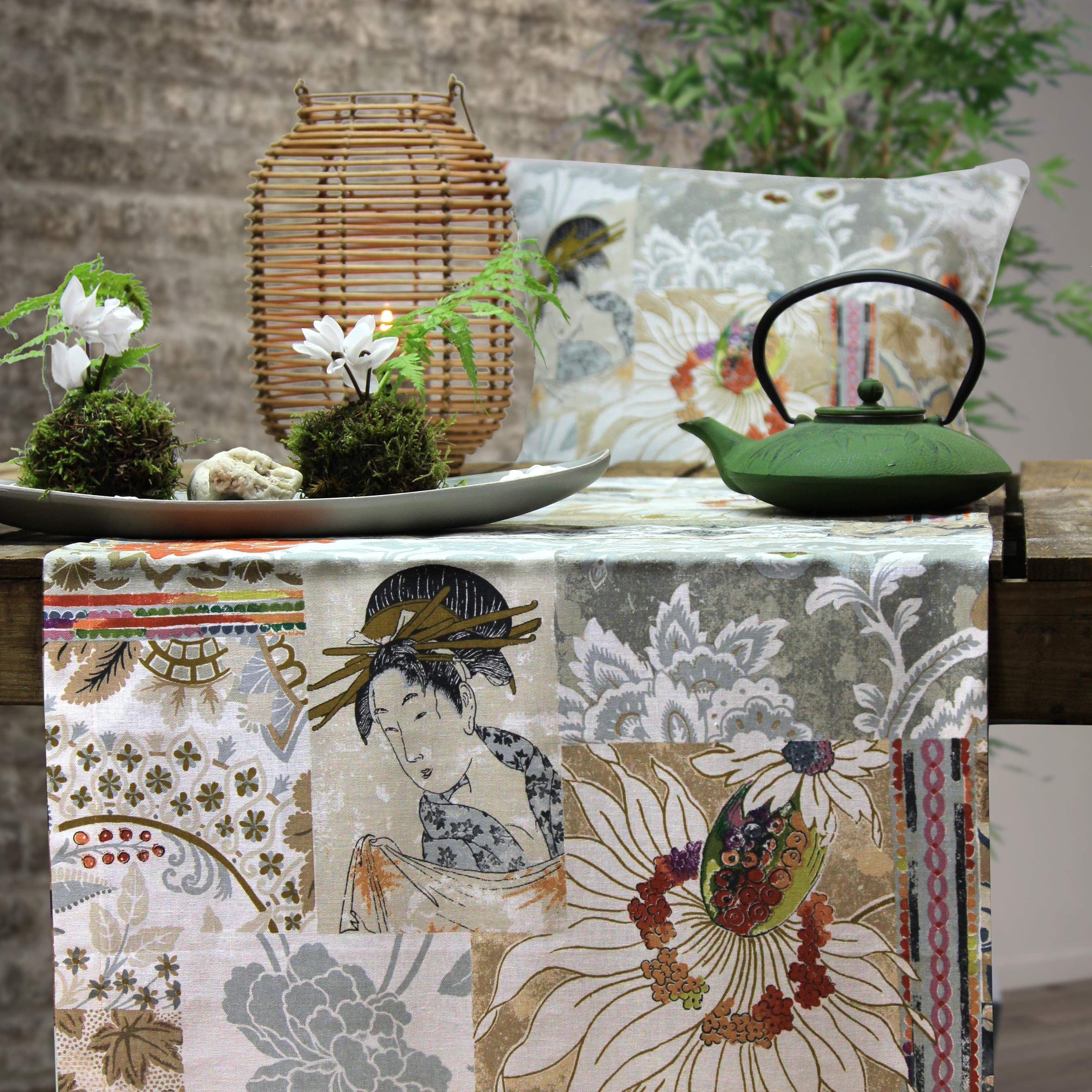 im asienlook tischl ufer mandarin von sander tischw sche f r jeden tag. Black Bedroom Furniture Sets. Home Design Ideas