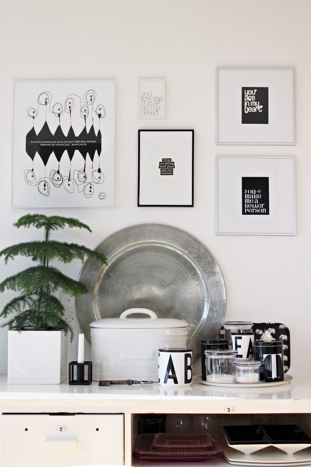 Kitchen / Black and white / Prints