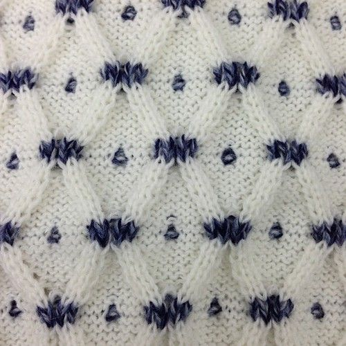Moving ribs with fair isle #keffnyc (at KeffNYC) | Knitted ...