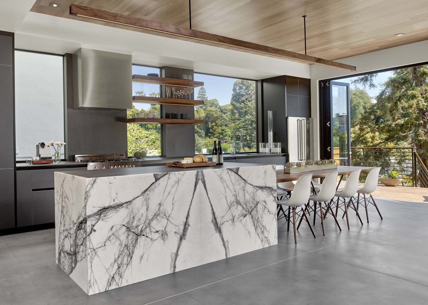 Midcentury Inspired Home With A Modern Twist On The West Coast Modern Kitchen Design Small Modern Kitchens Best Kitchen Designs