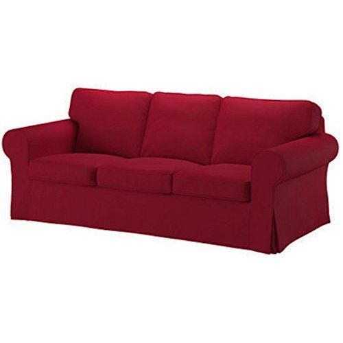 Ikea Ektorp 3 Seat Sofa Cover Replacement Is Custom Made Slipcover For IKea  Ektorp Sofa Cover (Wine Red)