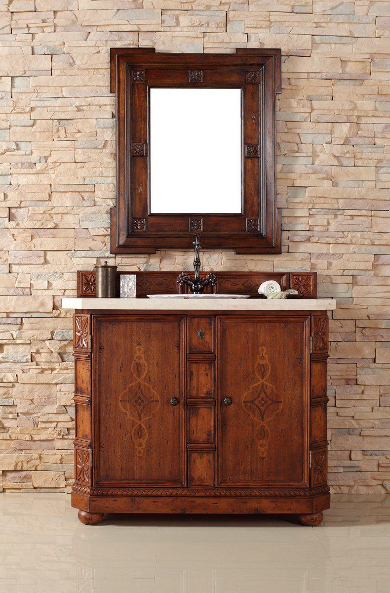 Amazon Com James Martin Charleston 42 Single Vanity In Burnished Ash Home Kitchen Single Vanity Traditional Bathroom Vanity Single Bathroom Vanity