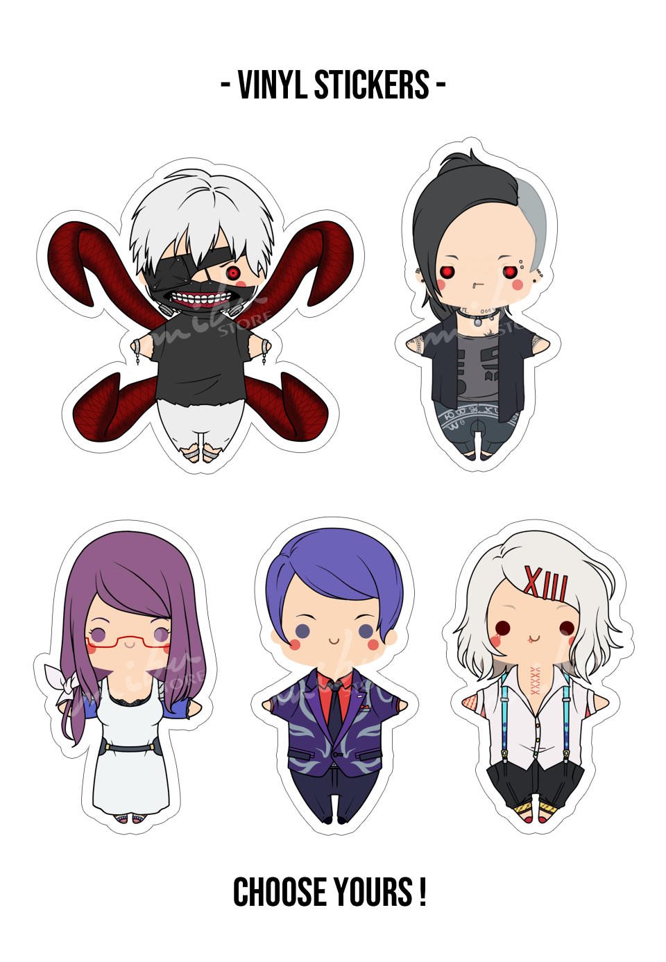 Tg Vinyl Stickers Cute Stickers Anime Stickers Cool Stickers