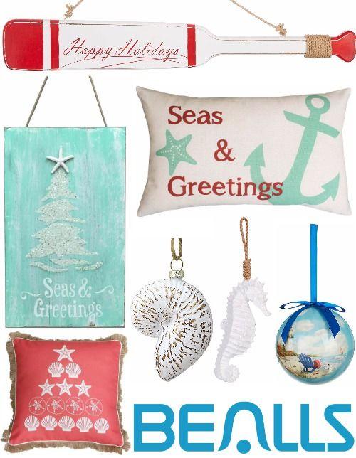 Coastal Christmas Decor, Nautical Christmas, Beach Christmas, Coastal  Decor, Christmas Florida, - Coastal Christmas Online Shopping Guide Coastal Christmas Decor