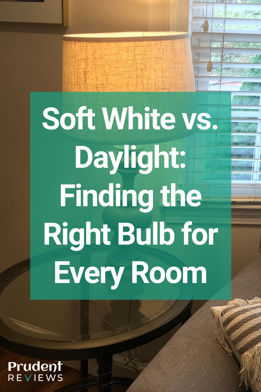 Daylight Vs Soft White For Living Room : daylight, white, living, White, Daylight:, Finding, Right, Every, Choosing, Light, Bulbs,
