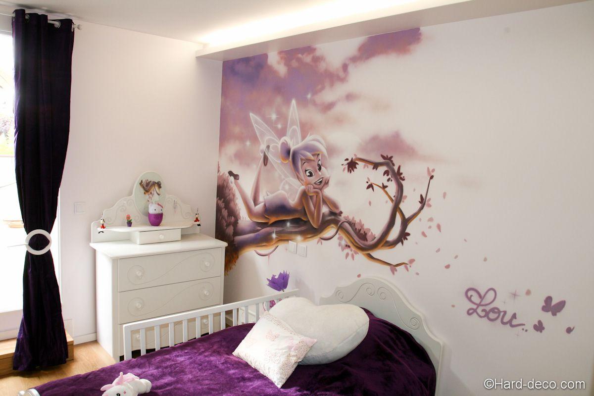 Chambre Pourpre Fee Clochette Avec Images Chambre Bebe Disney