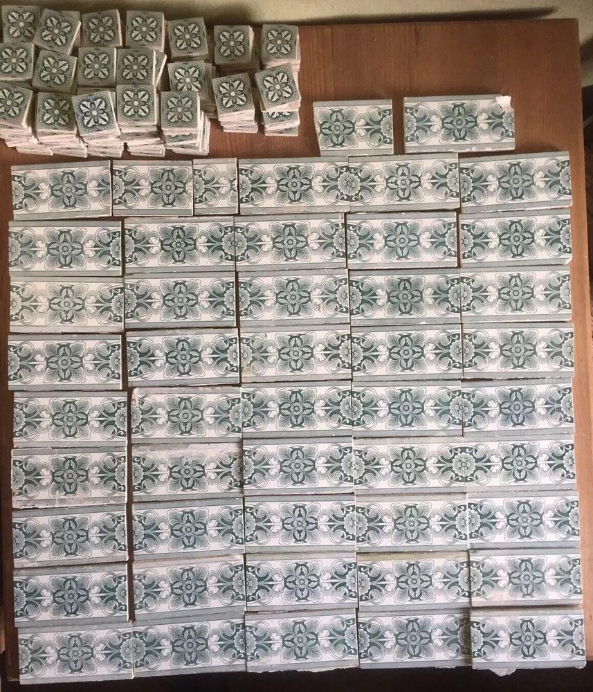 45 antike jugendstil art nouveau tile fliesen bord re. Black Bedroom Furniture Sets. Home Design Ideas