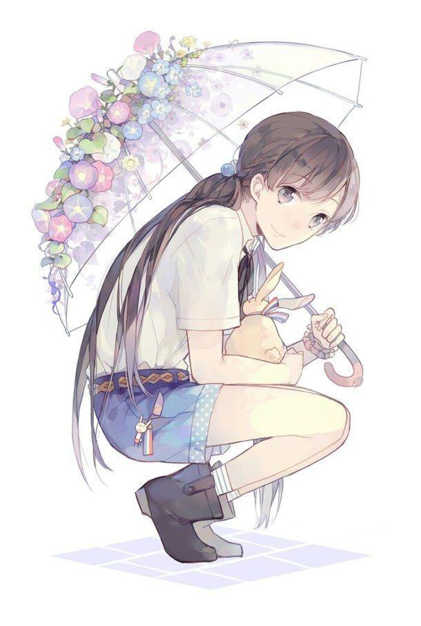 adorable anime art anime girl art cute draw drawing girl