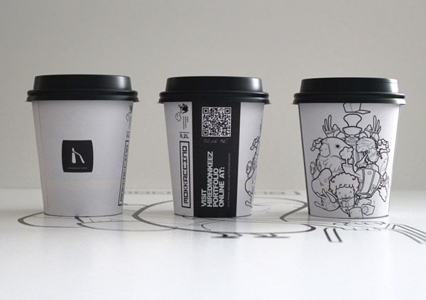 20 Creative Coffee Cup Designs You Need To See Hongkiat Coffee Cup Design Paper Cup Design Cup Design