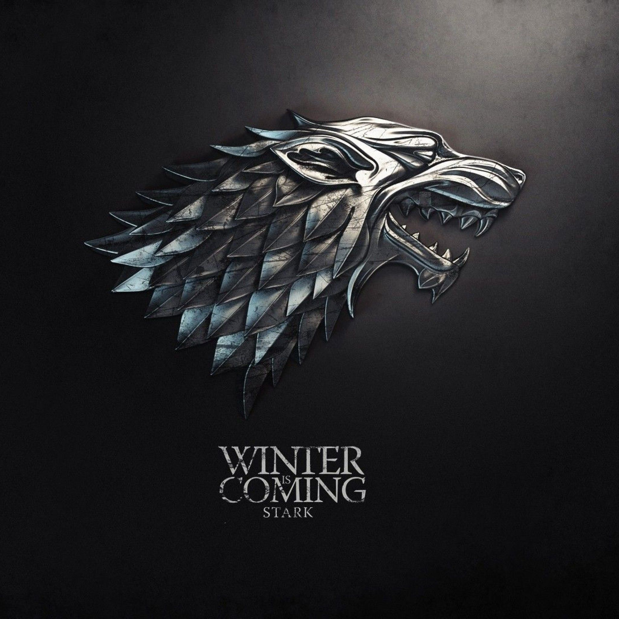The Dire Wolf Of House Stark Excellent Iphone Background Game Of Thrones Houses Game Of Thrones Winter Game Of Thrones