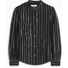 Rezultat iskanja slik za ISABEL MARANT ÉTOILE 'Samson' metallic stripe blouse