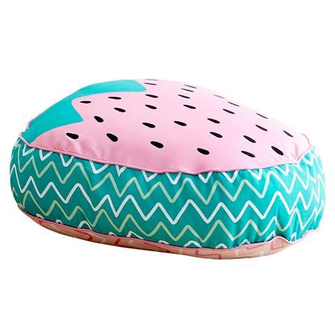 Strawberry Floor Cushion Roomates Kmart Pinterest