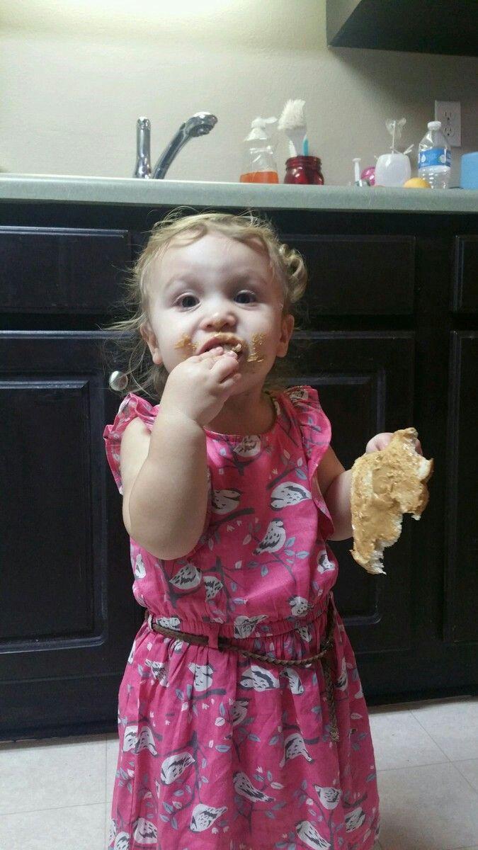 My cute granddaughter..