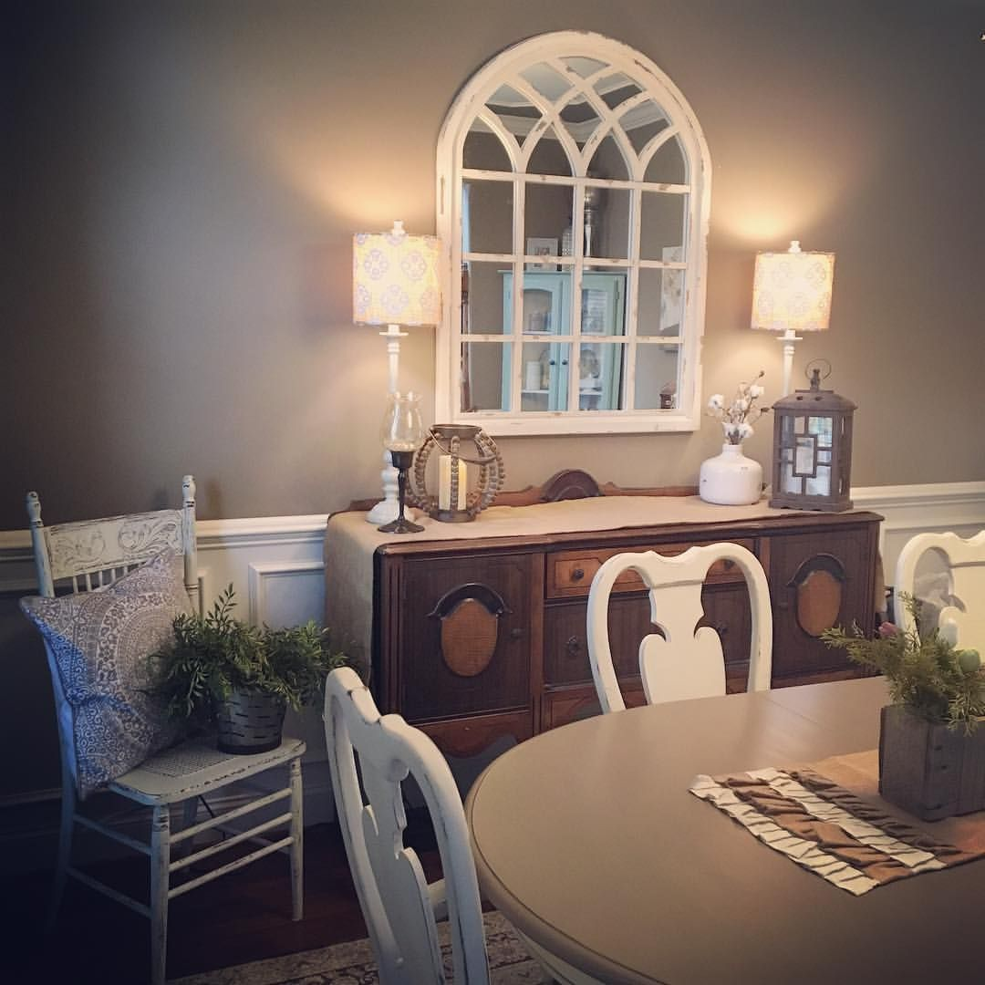 This Arched Mirror From Kirklands Is Amazing Perfect Touch In My Dining Room Decor