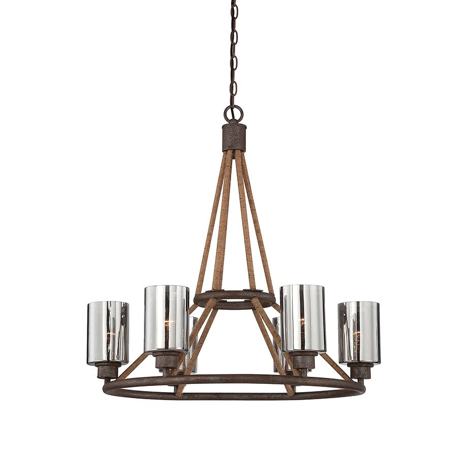nature inspired lighting. SAVOY HOUSE Lamps | Maverick 6 Light Chandelier Nature Inspired Style USA Product Available Lighting