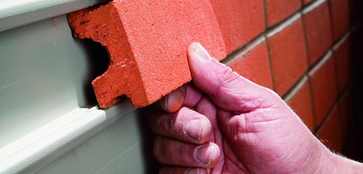 what are brick slips self build co uk tile pinterest bricks