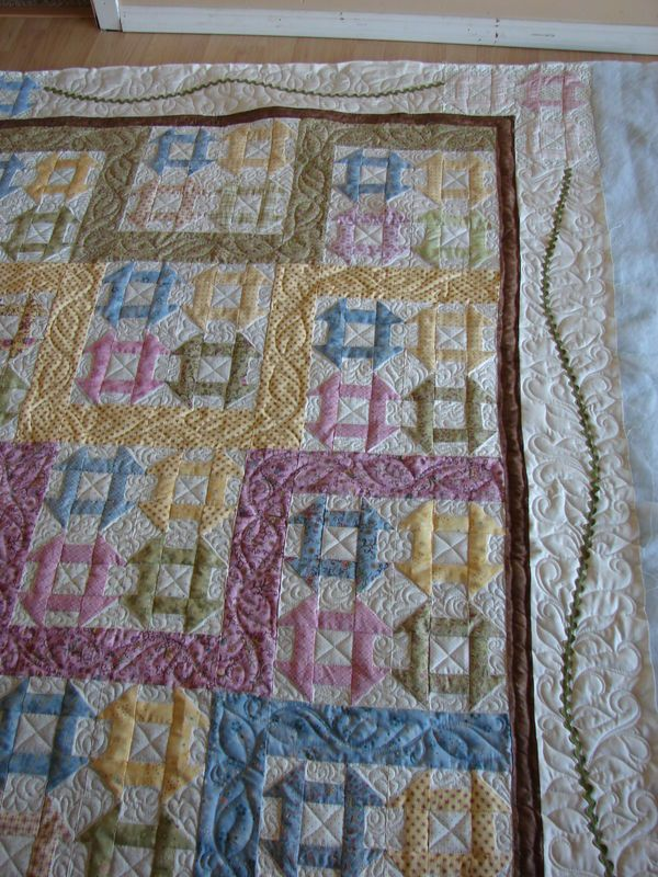 Baby Churndash...quilted by Charisma