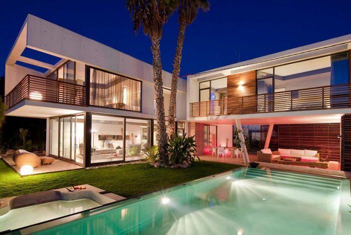 Las mejores creaciones de casas hechas con contenedores - Contenedores maritimos casas ...