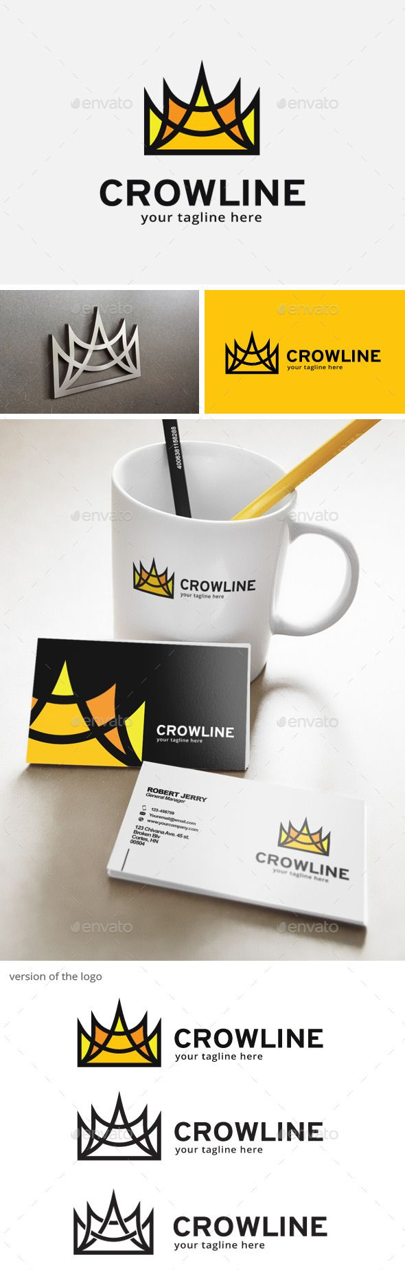 King Crown Logo — Vector EPS #education #royal • Available here → https://graphicriver.net/item/king-crown-logo/12637356?ref=pxcr