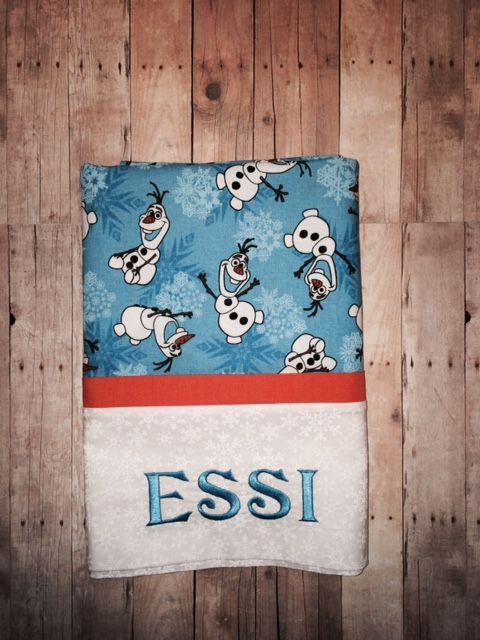 For Esther ~ aka Essi ~- Olaf Pillowcase - how to make the ... : missouri quilt company pillowcase tutorial - Adamdwight.com