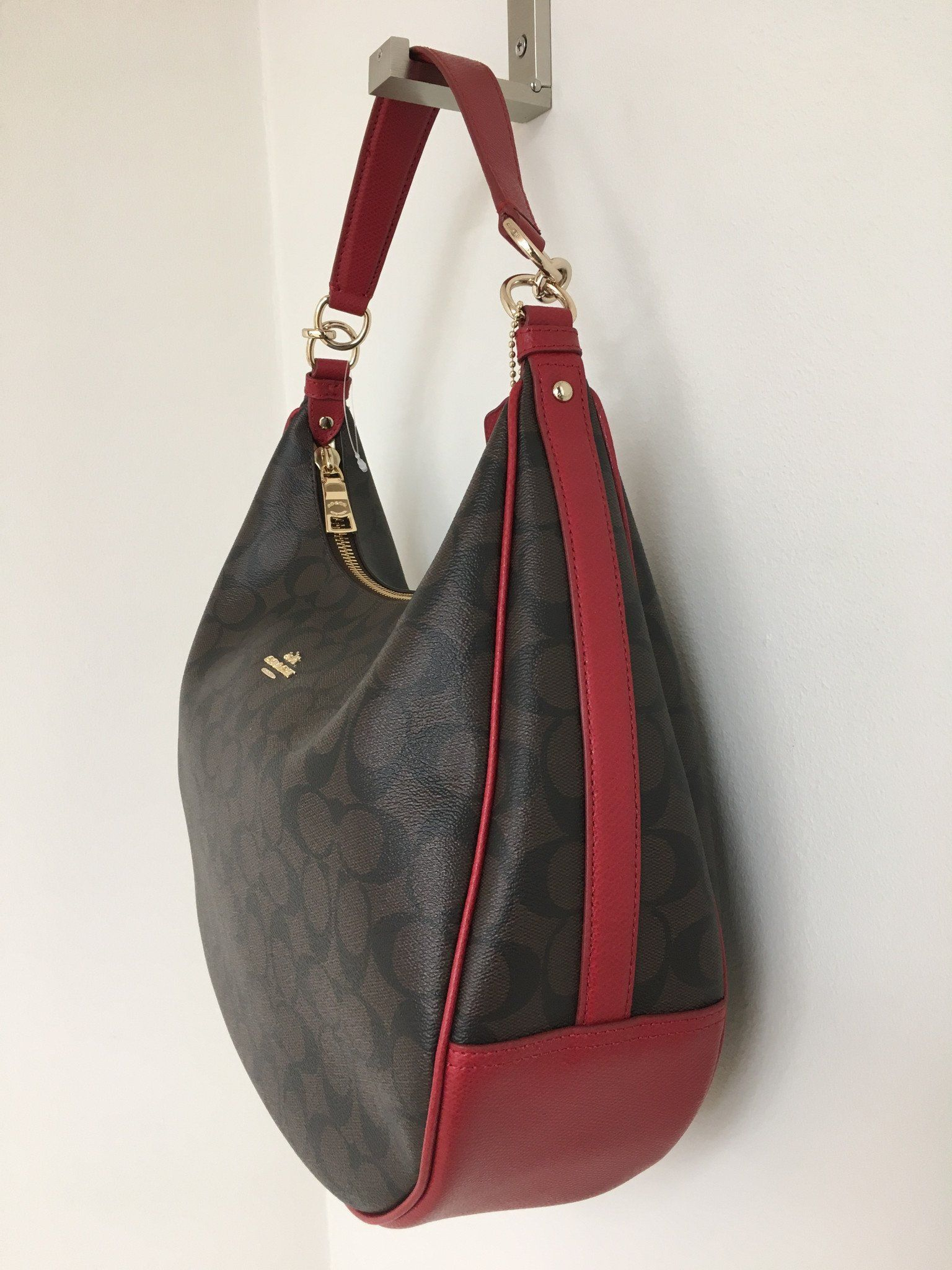 coach harley east west hobo bag products pinterest coach hobo rh pinterest com au