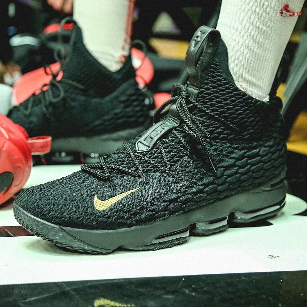 Here is a look at the Nike Lebron 15 with the swoosh on the front. Thoughts  on the swoosh being on the front?