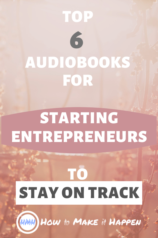 My Top 6 Non-Fiction Audiobooks for Entrepeneurs Who Are Starting Their Own Business. Listen to these handpicked list of audiobooks about FOCUS, FINANCIAL FREEDOM AND MOTIVATION. These 6 audiobooks really helped me STAY ON TRACK and NOT GIVE UP. I included my notes and key learnings, as well as personal experience related to these great audiobooks. #audiobooks #bestbooks #entrepreneur #personalgrowthbooks #personalgrowth #nonfictionbooks #motivation #businessmotivation #focus #financialfreedom