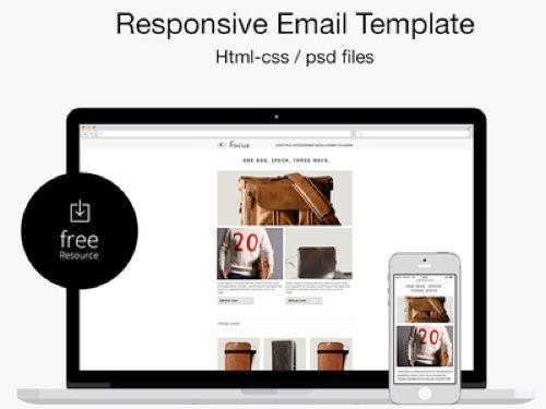 78 Free Responsive Email Templates Ux Ui Design Pinterest