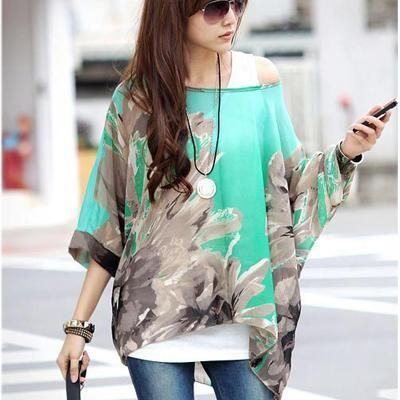 a45e7fa317e11 Blusas Women Blouses 2018 New Fashion Womens Casual Chiffon Blouse Summer  Style 4XL 5XL 6XL Plus Size Women Chiffon Shirts Tops
