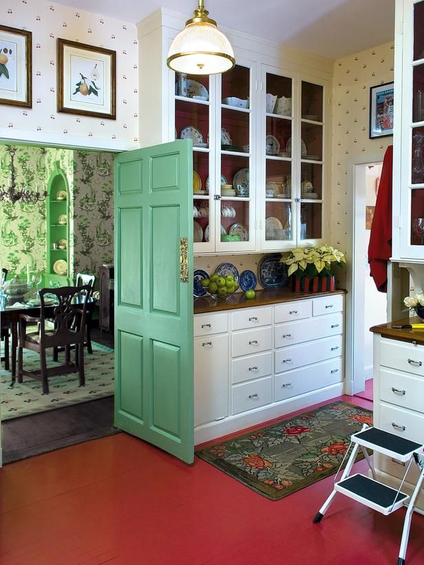 What about adding cabinets making party dishes cabinets taller