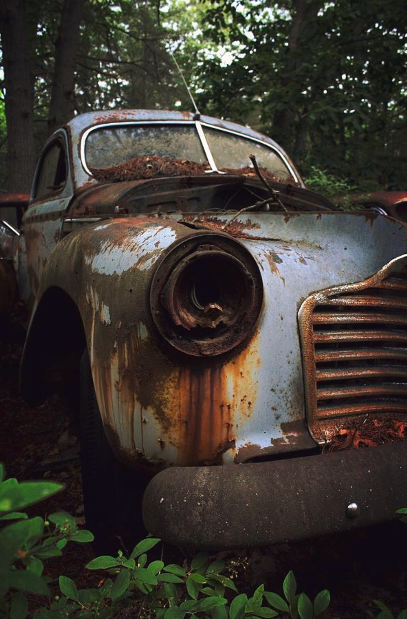 Rusted Old Car is a photograph by Allison Ferris. Source ...