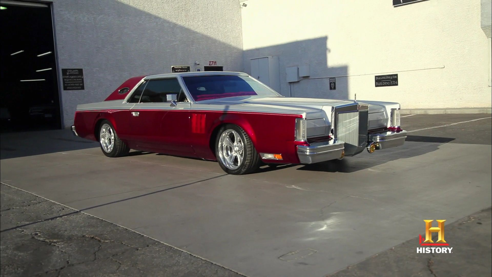 77 Lincoln Continental Mk5 By Counts Kustoms On Counting Cars Cool