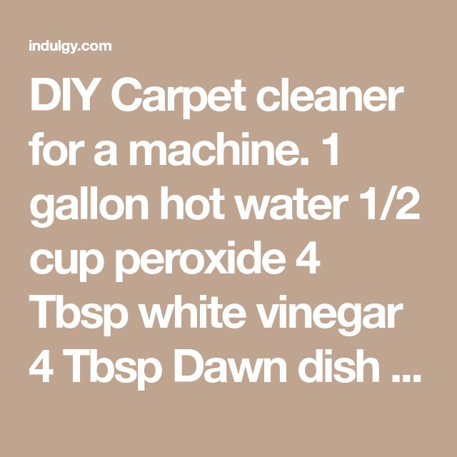 Vinegar In Bissell Carpet Cleaner