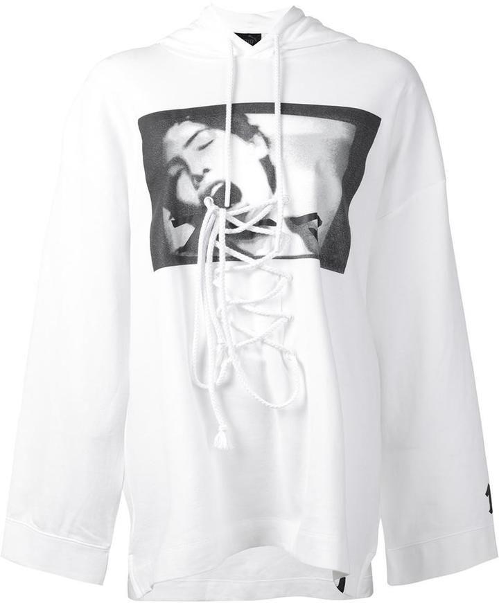1eac20c55b9b Fenty Puma x Rihanna front lace hoodie