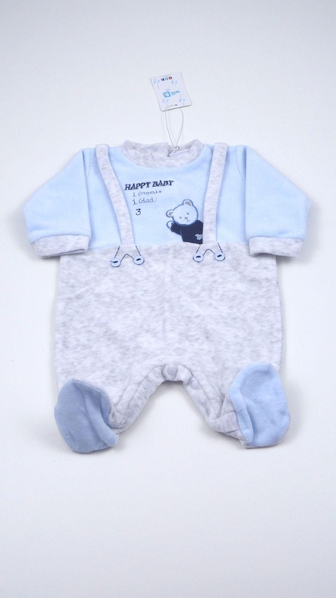 united states utterly stylish running shoes Tutina neonato Will B aperta davanti e sotto realizzata in ...