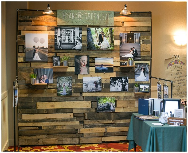 Expo Stand Backdrop : Love this wall bridal show booth wood rustic ryan