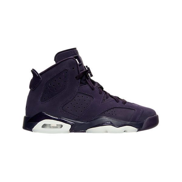 70810f9f615 Girls' Grade School Air Jordan Retro 6 (3.5y-9.5y) Basketball Shoes|...  ($140) ❤ liked on Polyvore featuring shoes