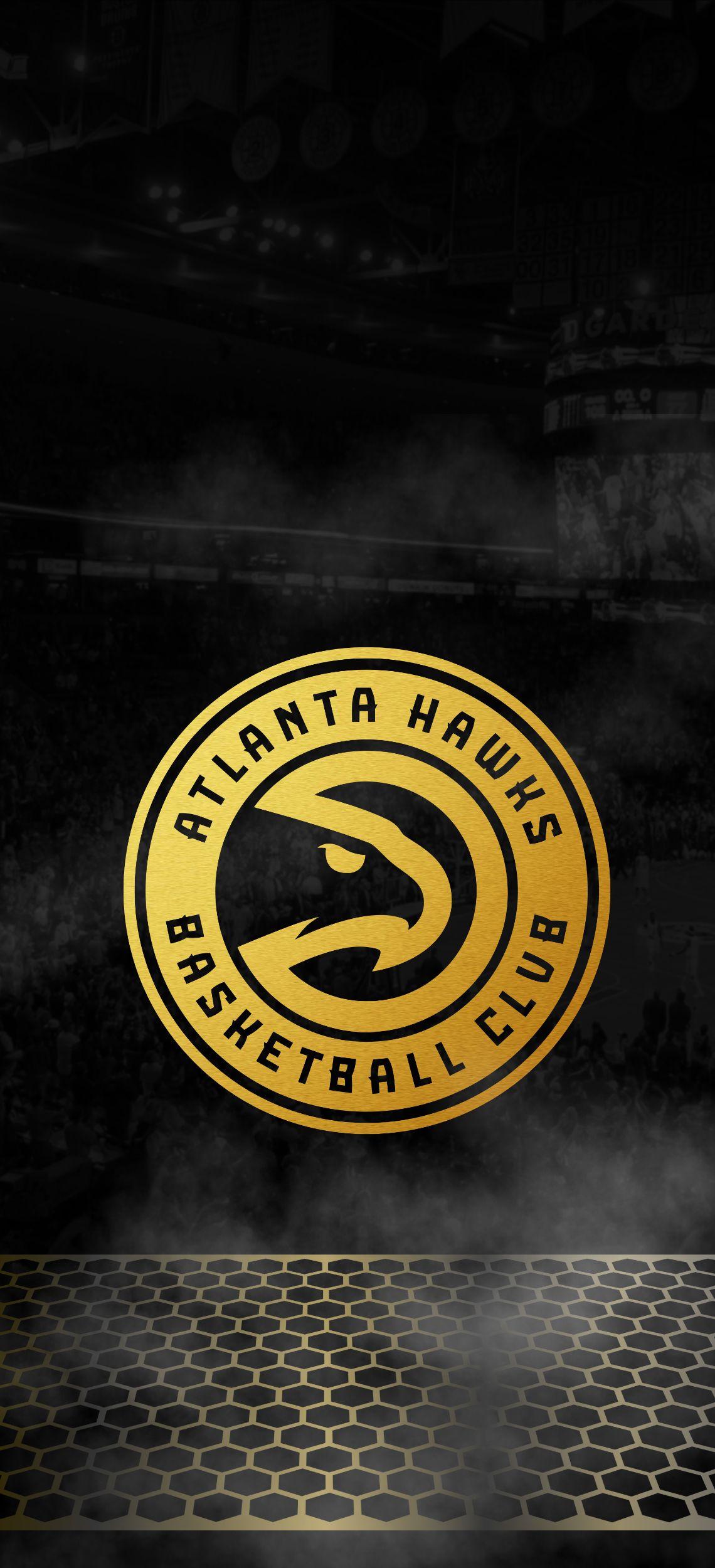 NBA Team Atlanta Hawks iPhone Background Wallpaper