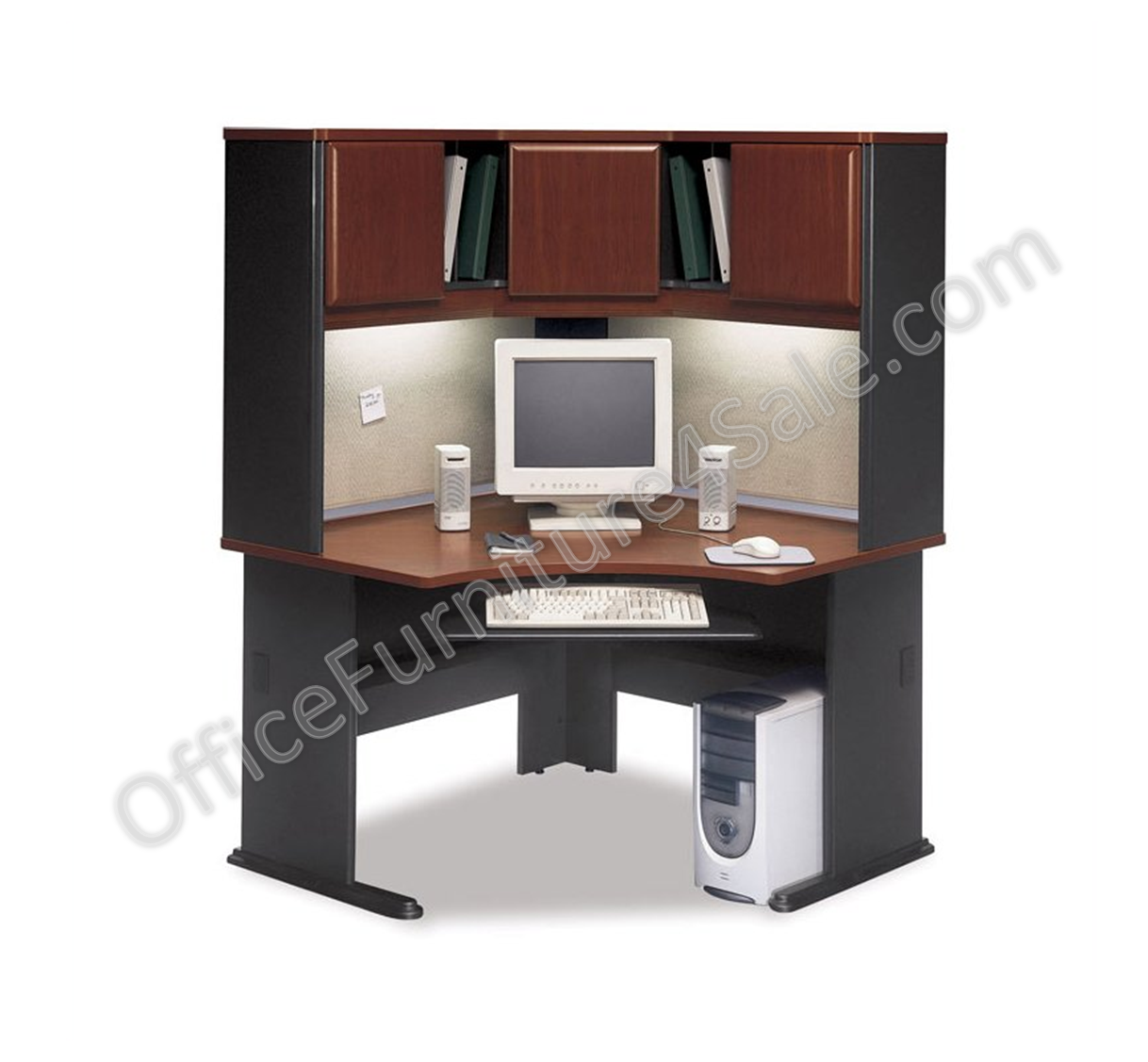 pin with office shelves furniture cherry connect shelf bush sweet doors and bookcase cupboard adjustable achieve