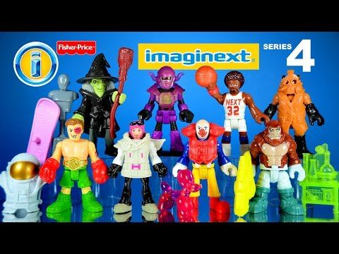 imaginext Mystery Figures Series 4 Opening and Codes Gorilla Astronaut - YouTube