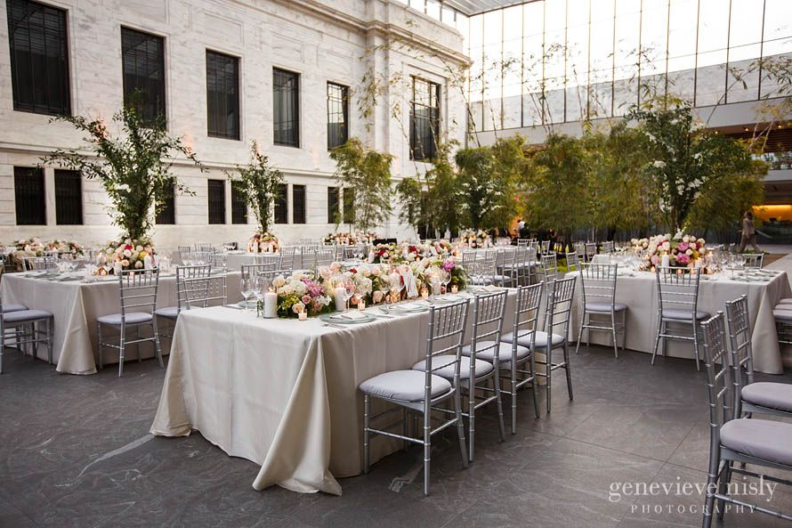 Cleveland Museum Of Art Wedding Reception In The Atrium Our Images