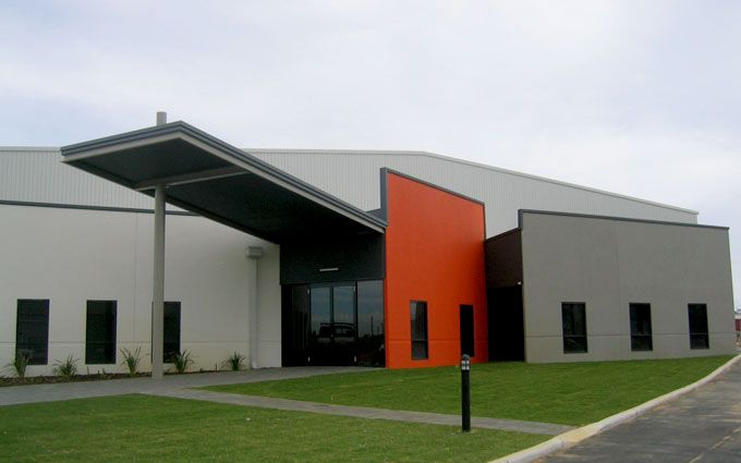 Commercial building designers perth industrial building for Warehouse building design