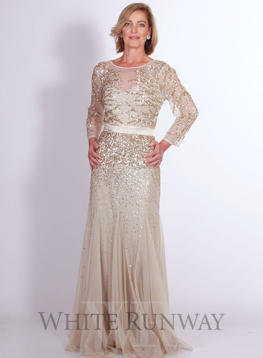 Edina Embellished Dress by Mr K A gorgeous full length gown