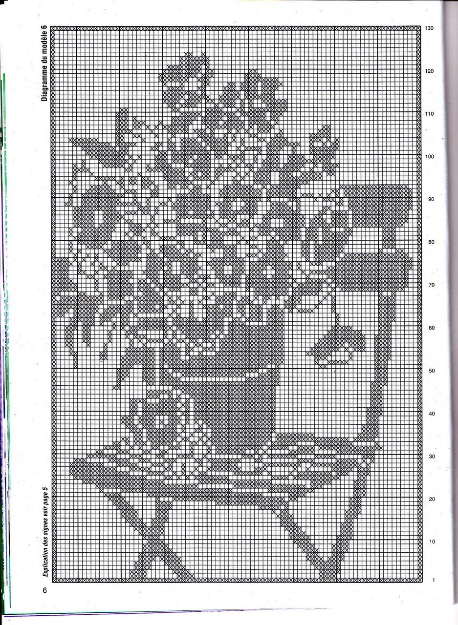 Схемы картинки для филейного вязания крючком