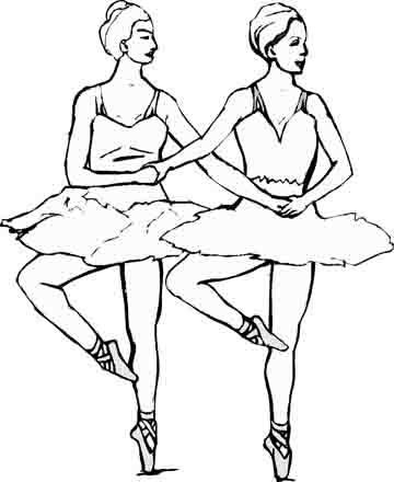 ballet-coloring-pages-103.jpg 360×440 pixels | Dance coloring sheets ...