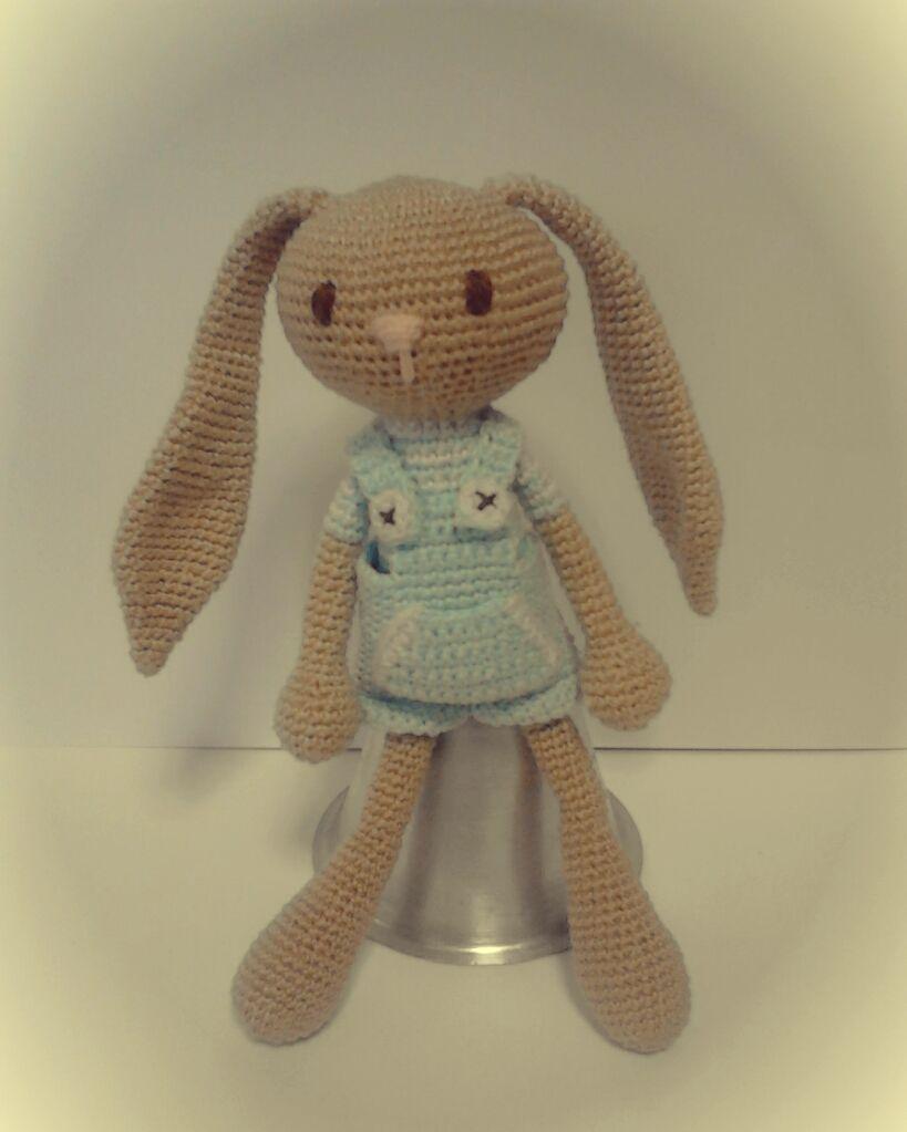 Rabbit amigurumi Conejo amigurumi